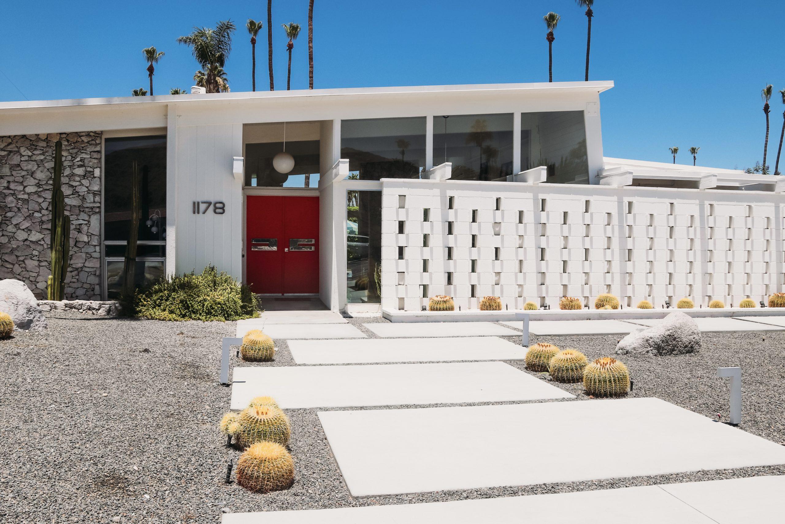 Palms Springs Mid-century modern architecture